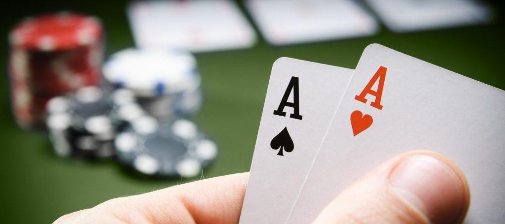a poker flush